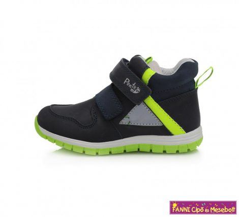 Ponte20 fiú szupinált gyerekcipő 22-27 kék-neon-m