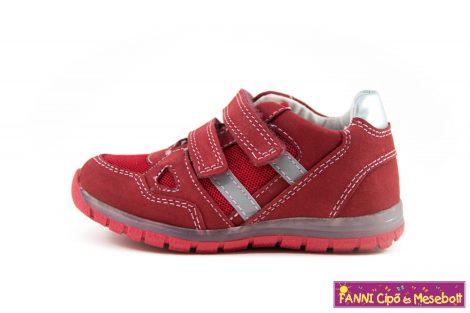 Ponte20 lány szupinált gyerekcipő 22-27 piros