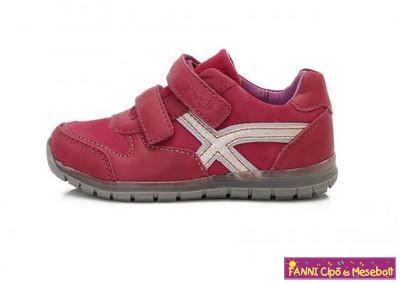 Ponte20 lány szupinált gyerekcipő 22-27 RED
