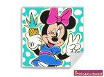 Disney Minnie, Mágikus Kéztörlő arctörlő, törölköző-1 30*30cm