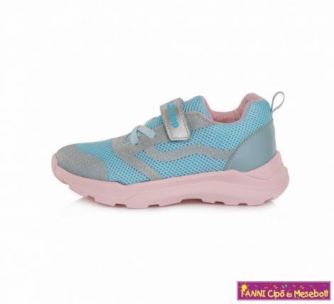 D.D. step lány sportcipő 24-29 v.kék rózsaszín