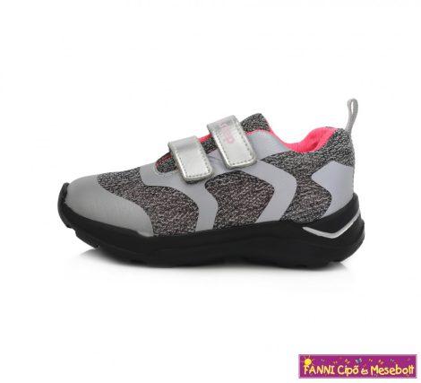 D.D. step lány sportcipő 30-35 szürke