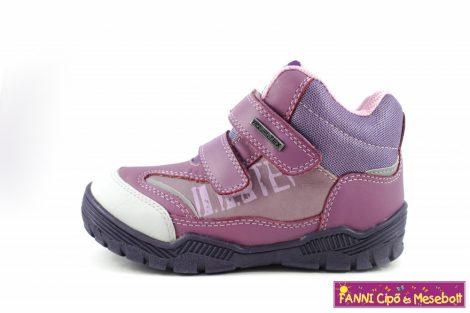 D.D. step lány AQUATEX/vízálló gyerekcipő 30-35 lila  35-ÖS UTOLSÓ PÁR