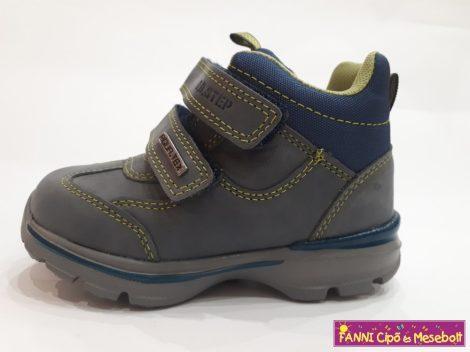 D.D.step fiú vízálló gyerekcipő 24-29 szürke-kék-zöld