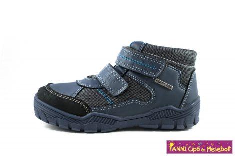 D.D. step fiú AQUATEX/vízálló gyerekcipő 30-35 kék-szürke