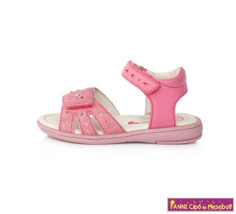 D.D. step lány LED-villogós szandál 25-30 s.rózsaszín