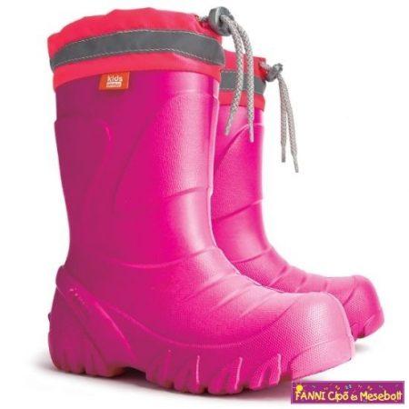 Demar Mammut  rózsaszín EVA hótaposó/csizma 22-35