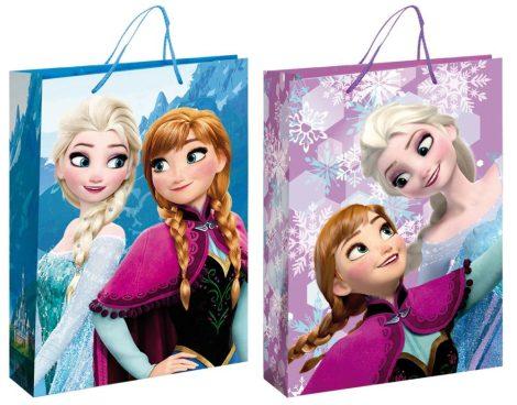 Ajándékzacskó Disney Frozen, Jégvarázs   Méret: 33*24,5*13cm