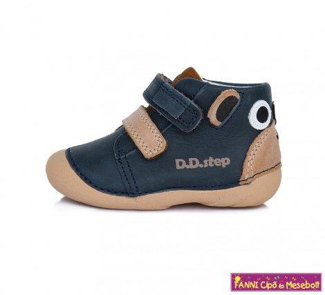 D.D. step fiú gyerekcipő 19-24 s.kék-barna