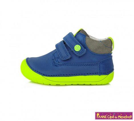 "D.D. step fiú ""Barefoot"" gyerekcipő 20-25 kék-neon"