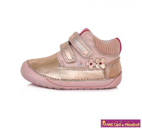 """D.D. step lány """"Barefoot"""" gyerekcipő 20-25 pink"""