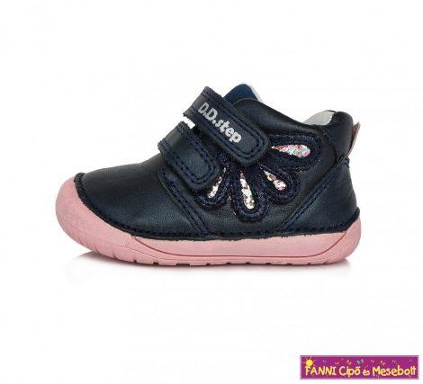 """D.D. step lány """"Barefoot"""" gyerekcipő 20-25 kék-pink"""