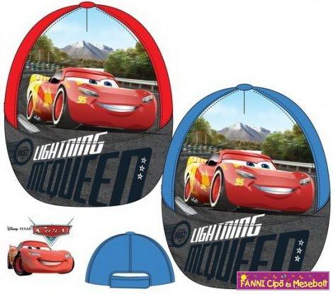 Disney Cars, Verdák gyerek baseball sapka 52-54cm -v