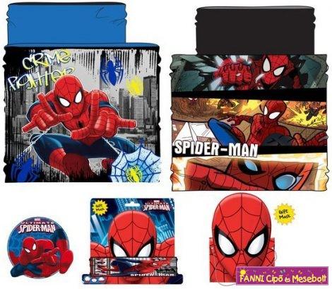 Gyerek sál, csősál, snood Spiderman, Pókember